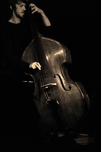 The cellist of the Jean Paul Brodbeck Trio