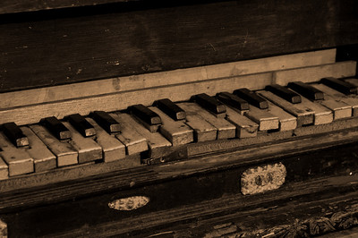 A VERY old piano