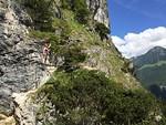 Gr�nstein Via Ferrata near the K�nigssee